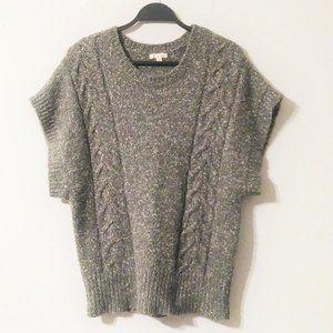 Ruby Moon Knit Grey Sweater Size XL